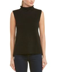 In Cashmere - Mock Collar Sweater - Lyst