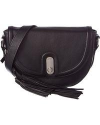 Sorial - Noah Leather Saddle Bag - Lyst