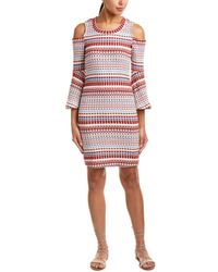 Ella Moss - Cold-shoulder Sweaterdress - Lyst