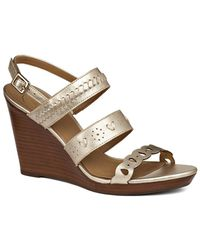 Jack Rogers - Arden Leather Wedge - Lyst