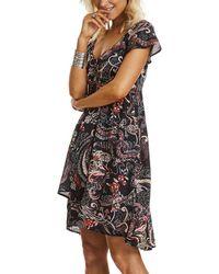 Odd Molly - Short Sleeve Back Stage Short Dress - Lyst
