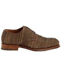Aquatalia - Men's Vance Woven Waterproof Leather Oxford - Lyst