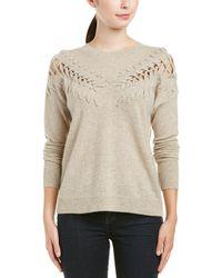 White + Warren - Cashmere Sweater - Lyst