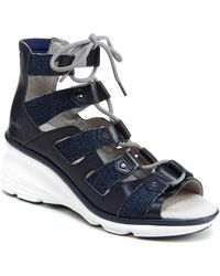 Jambu - Milano Leather Sandal - Lyst