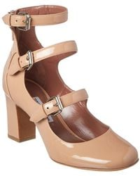 Tabitha Simmons - Ginger Triple-strap Patent Leather Mary Jane Pump - Lyst