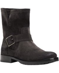Frye - Natalie Engineer Suede Boot - Lyst