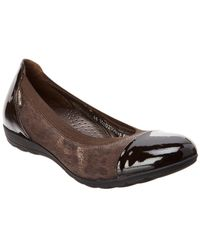 Mephisto - Elettra Patent & Leather Flat - Lyst