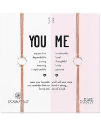 Dogeared - Core Silver Bracelet - Lyst