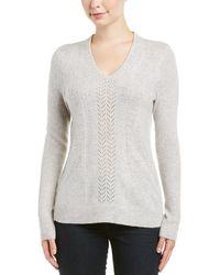 White + Warren   Cashmere Sweater   Lyst