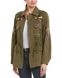 Tanya Taylor - Embroidered Linen-blend Jacket - Lyst