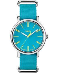 Timex - Women's Nylon Watch - Lyst