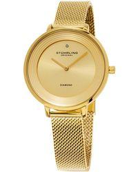 Stuhrling Original - Women's Symphony Diamond Watch - Lyst