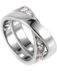 Cartier - Cartier Paris Nouvelle Vague 18k 1.00 Ct. Tw. Diamond Ring - Lyst