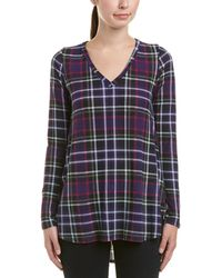 Peach Love CA - Plaid Tunic - Lyst