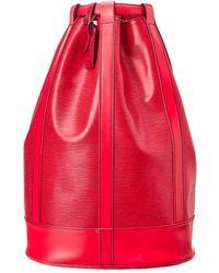 Louis Vuitton - Red Epi Leather Randonnee Gm - Lyst