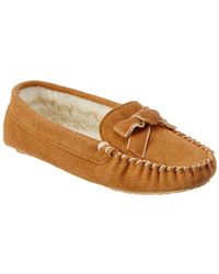 Patricia Green - Haley Suede Slipper - Lyst