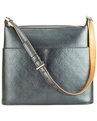Louis Vuitton - Grey Monogram Mat Vernis Leather Sutter - Lyst