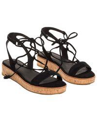 Frye - Women's Miranda Suede Gladiator Sandal - Lyst