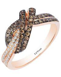 Le Vian - ? 14k Rose Gold 0.61 Ct. Tw. Diamond Ring - Lyst