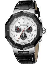 Roberto Cavalli - Men's Octagon Watch - Lyst