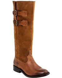 Lucchese - Riding Leather Western Boot - Lyst