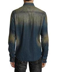 PRPS - Goods & Co. Future Denim Sport Shirt - Lyst