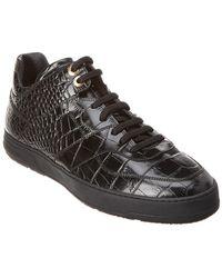 5eb2b86ae1503 Ferragamo Monroe Mid-top Sneaker in Black for Men - Lyst
