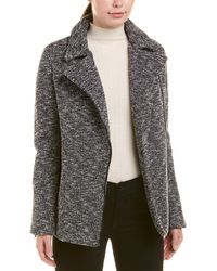 James Jeans - Boyfriend Moto Coat - Lyst