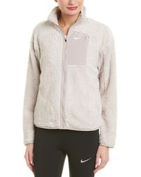 Nike - Sherpa Full Zip Jacket - Lyst