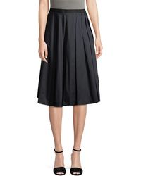 Jason Wu - Pleated A-line Skirt - Lyst