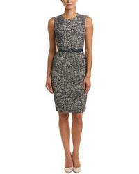 Max Mara - Sheath Dress - Lyst