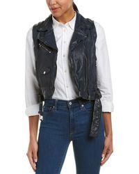 Lamarque - Obax Leather Jacket - Lyst