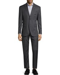 Michael Bastian - Gray Label Checkered Wool Suit - Lyst