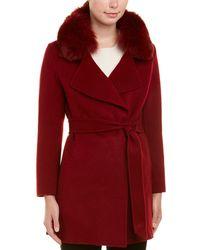 La Fiorentina - Wool Coat - Lyst
