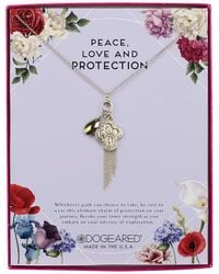 Dogeared - Magical Talisman Silver Necklace - Lyst
