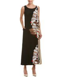 Lafayette 148 New York - Printed Silk Maxi Dress - Lyst
