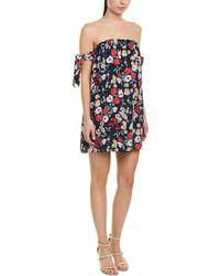 Peach Love CA - Floral Dress - Lyst
