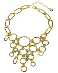 Gottex - 18k Plated Bubbles Necklace - Lyst