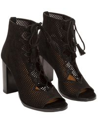 546a0ea516a L.K.Bennett Gabby Slingback Kitten Heel Sandals in Purple - Lyst