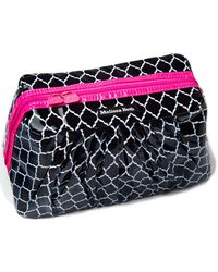 Melissa Beth - Hot Pink Pretty Pleats Cosmetic Case - Lyst