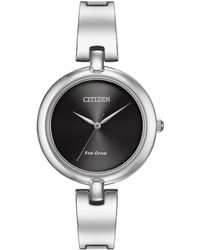 "Citizen - ""silhouette"" Eco-drive Watch - Lyst"