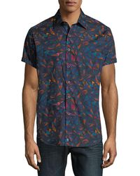 Robert Graham - Glenhaven Geometric Button-down Shirt - Lyst
