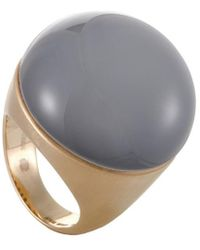 Roberto Coin - 18k Rose Gold Onyx Ring - Lyst