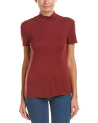 Splendid - Fitted Open Back T-shirt - Lyst