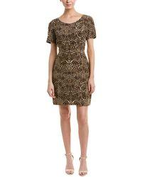 The Kooples - Printed Silk Mini Dress - Lyst