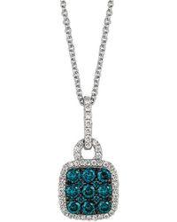Le Vian - ? 14k .53 Ct. Tw. Diamond Necklace - Lyst