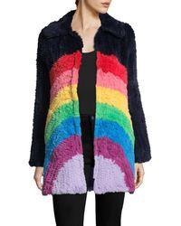 Manoush - Rainbow Coat - Lyst