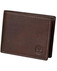 Timberland - Genuine Leather Blix Slimfold Wallet - Lyst
