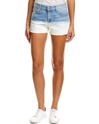 7 For All Mankind - 7 For All Mankind Vintage Ocean Breeze Short - Lyst