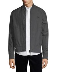 Fred Perry - Sports Bomber Jacket - Lyst